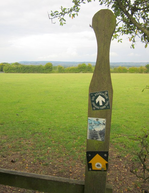 Stile on the Monarch's Way