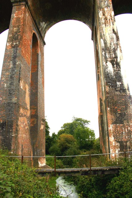 The River Ouse under Balcombe Viaduct