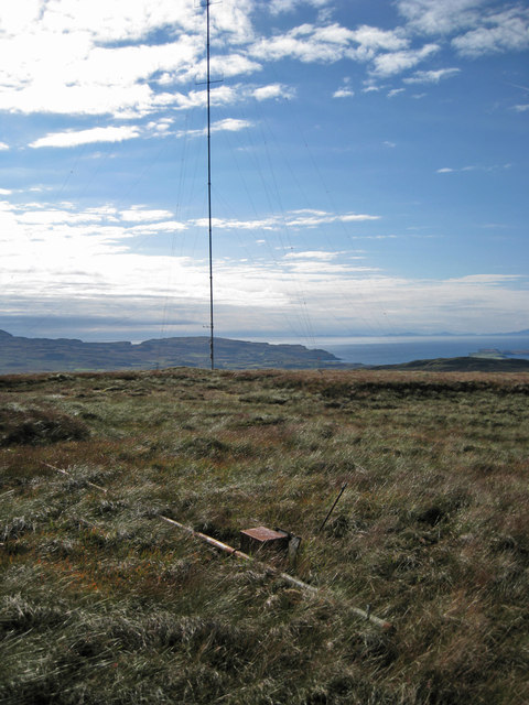 Two masts on the hilltop