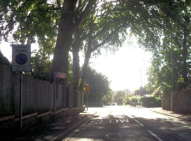 Approaching Stockbridge Road roundabout