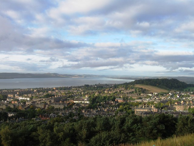 Looking south west from Dundee Law