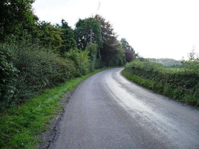 Minor road, west of Lan Sor