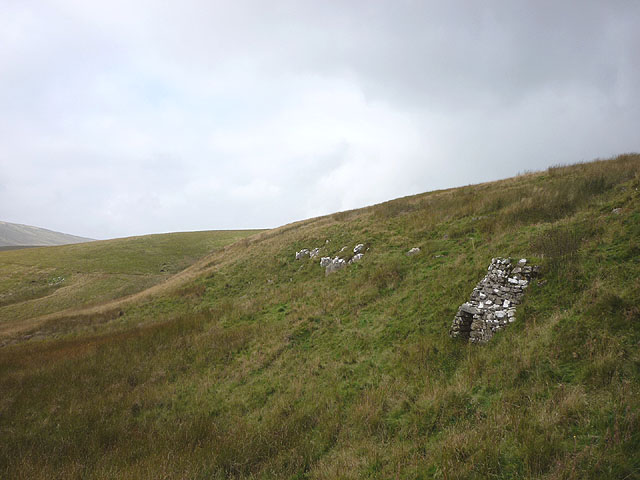 Disused lime kiln at the head of Grisedale