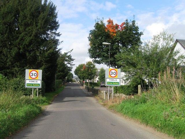 Entrance to Fowlis