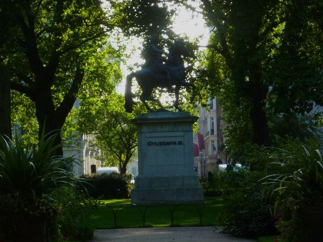 Statue of William the Third in St James' Square