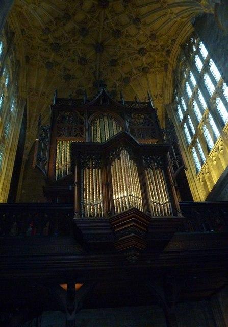 Inside Sherborne Abbey (1)