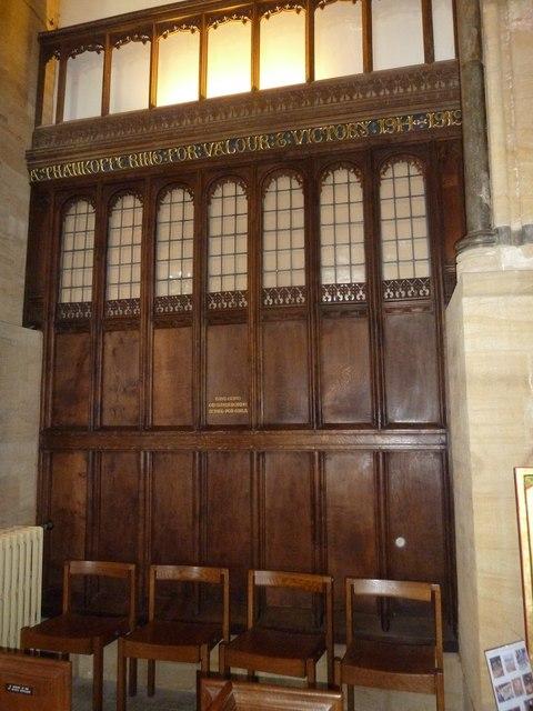 Inside Sherborne Abbey (2)