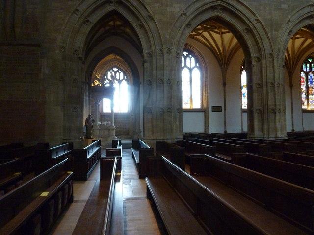 Inside Sherborne Abbey (3)