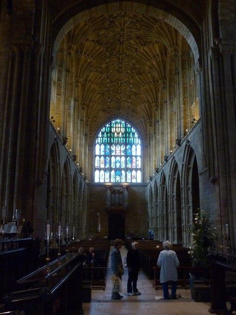 Inside Sherborne Abbey (7)
