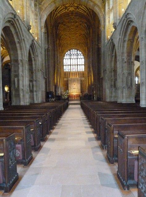 Inside Sherborne Abbey (11)