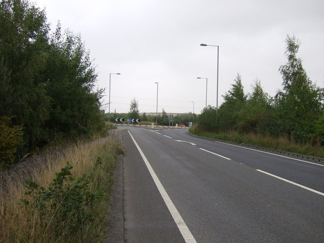 Park Spring Road (A6195)