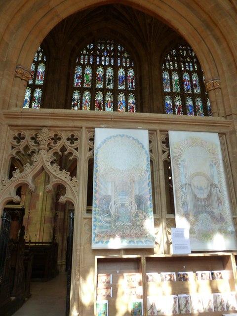 Inside Sherborne Abbey (17)