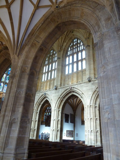 Inside Sherborne Abbey (22)