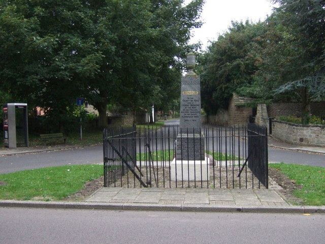 Billingley War Memorial