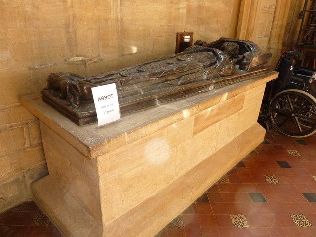Sherborne Abbey: memorial (i)