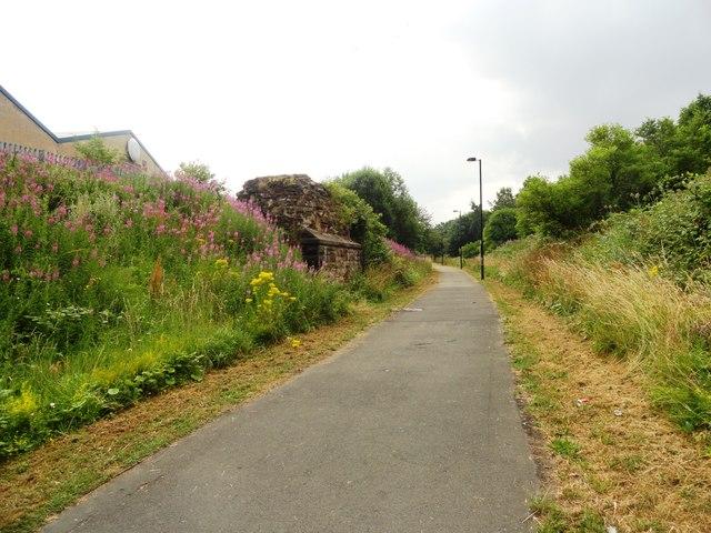Hadrian's Wall Path in Walker