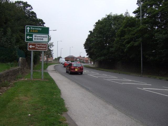 Doncaster Road (A635)