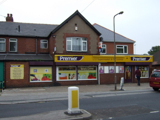 Post Office and stores, Cudworth