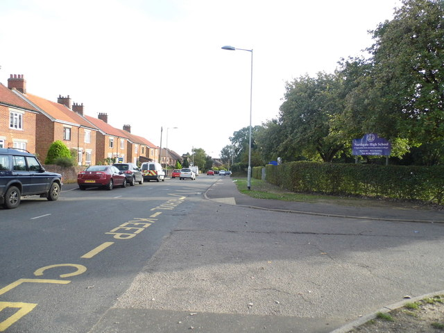 High School and Cemetery Road
