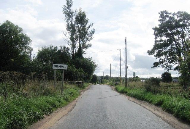 Entrance to Benvie