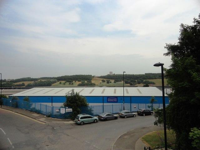 Factory building in Low Walker