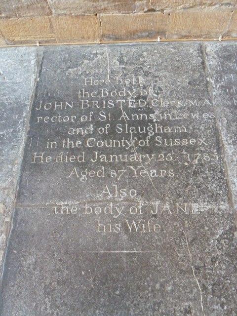 Sherborne Abbey: memorial (xxiii)