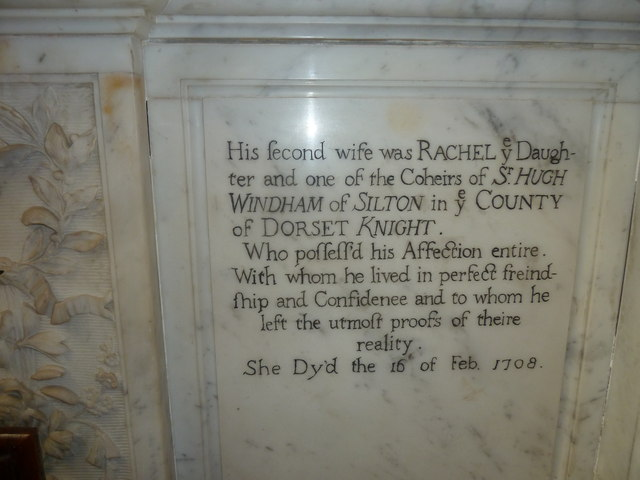 Sherborne Abbey: memorial (xxviii)
