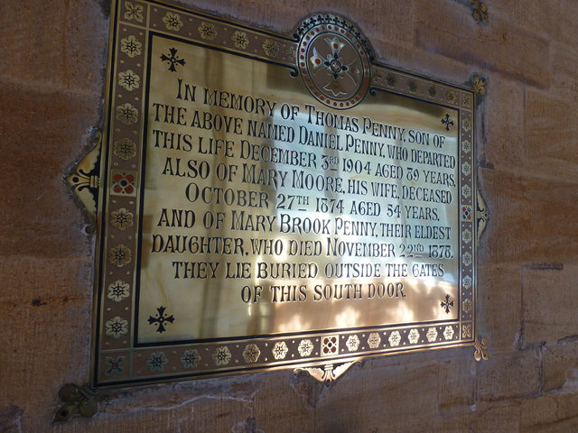 Sherborne Abbey: memorial (xlvi)