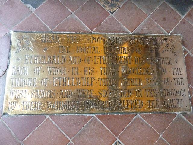 Sherborne Abbey: memorial (xxxii)
