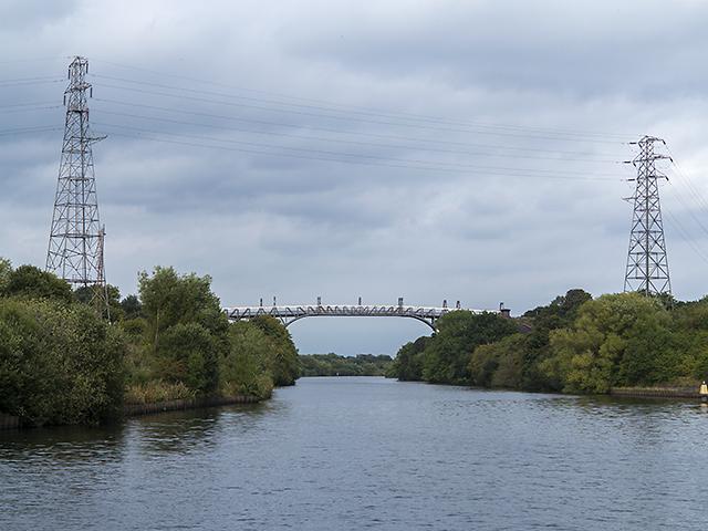 Manchester Ship Canal near Warburton