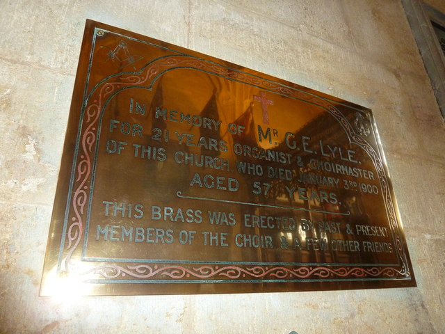 Sherborne Abbey: memorial (xxxvii)