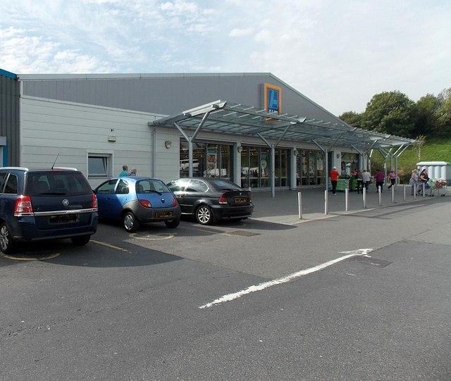 Aldi supermarket in Swansea
