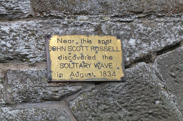 Plaque to John Scott Russell