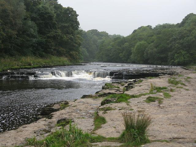 River Ure at the Aysgarth Falls