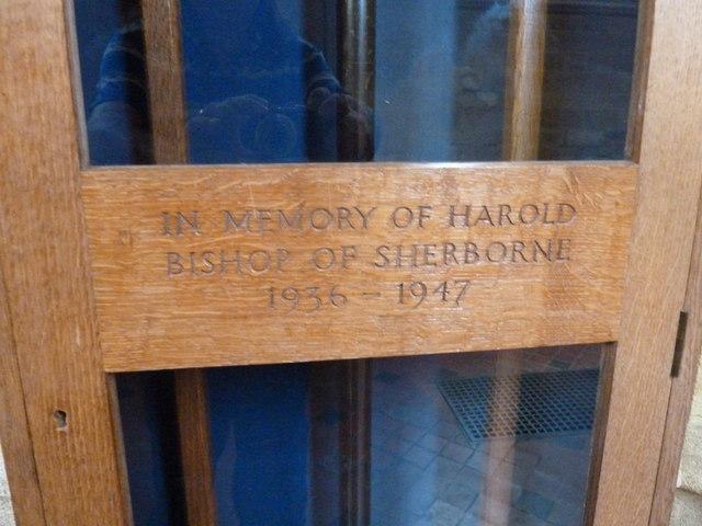 Sherborne Abbey: memorial (xxxix)