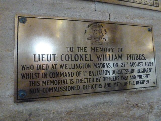 Sherborne Abbey: memorial (xli)