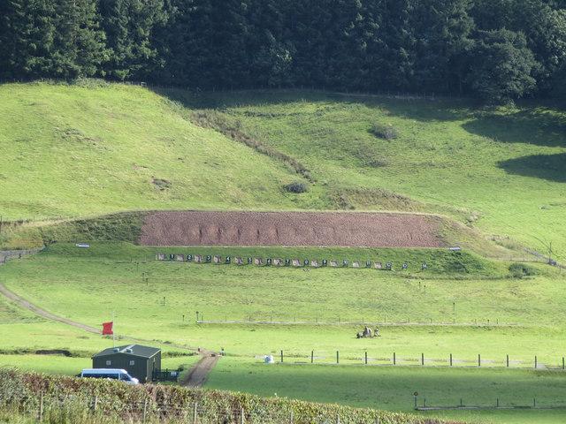 Rifle range south of Bwlch-y-Rhiw
