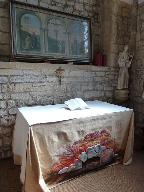 Sherborne Abbey: altar (II)
