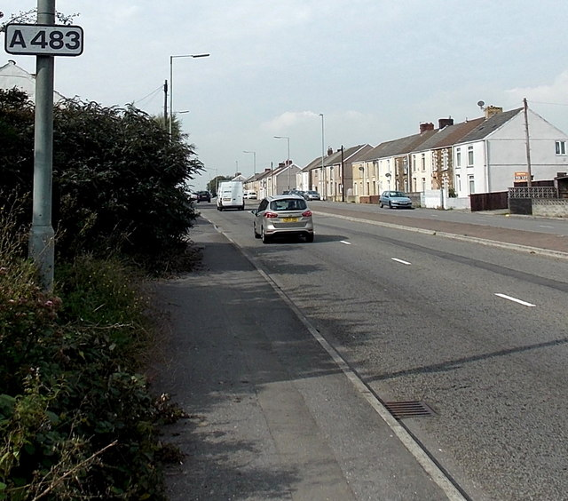 Carmarthen Road houses in the Gendros area of Swansea