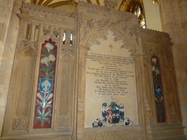 Sherborne Abbey: memorial (xlvii)