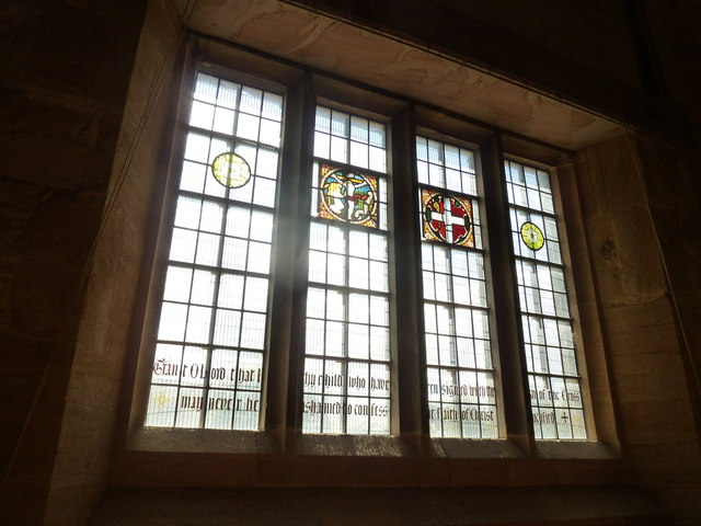 Sherborne Abbey: stained glass windows (B)