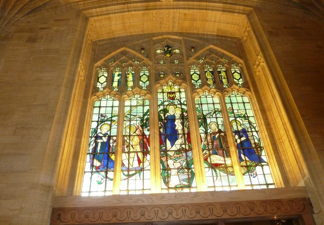 Sherborne Abbey: stained glass windows (C)