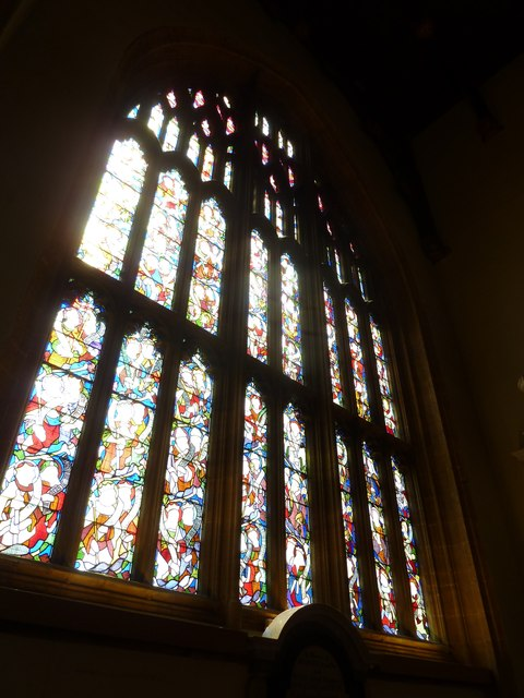 Sherborne Abbey: stained glass windows (H)