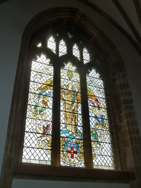 Sherborne Abbey: stained glass windows (I)