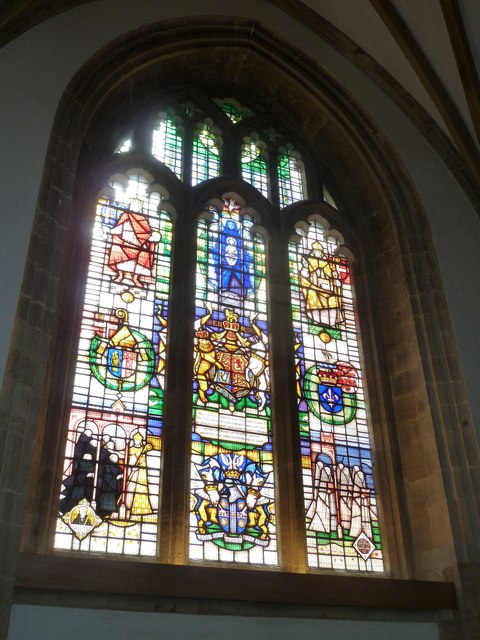 Sherborne Abbey: stained glass windows (K)