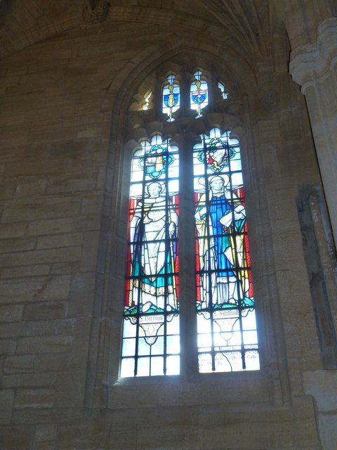 Sherborne Abbey: stained glass windows (M)