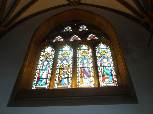 Sherborne Abbey: stained glass windows (O)