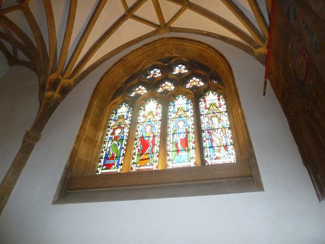 Sherborne Abbey: stained glass windows (U)