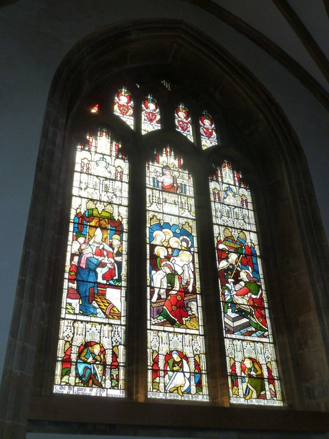 Sherborne Abbey: stained glass windows (V)