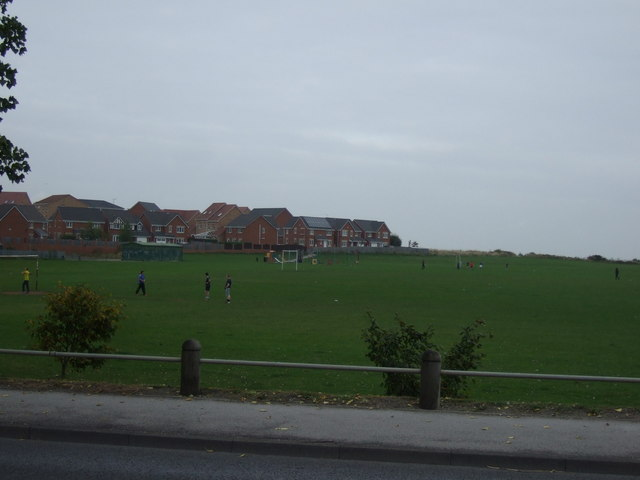 Playing field off Rotherham Road